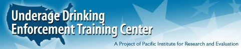 Underage Drinking Enforcement Training Center